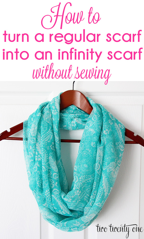 turn-a-regular-scarf-into-an-infinity-scarf-without-sewing-1