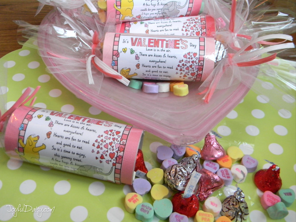 Valentine Tube Treats!
