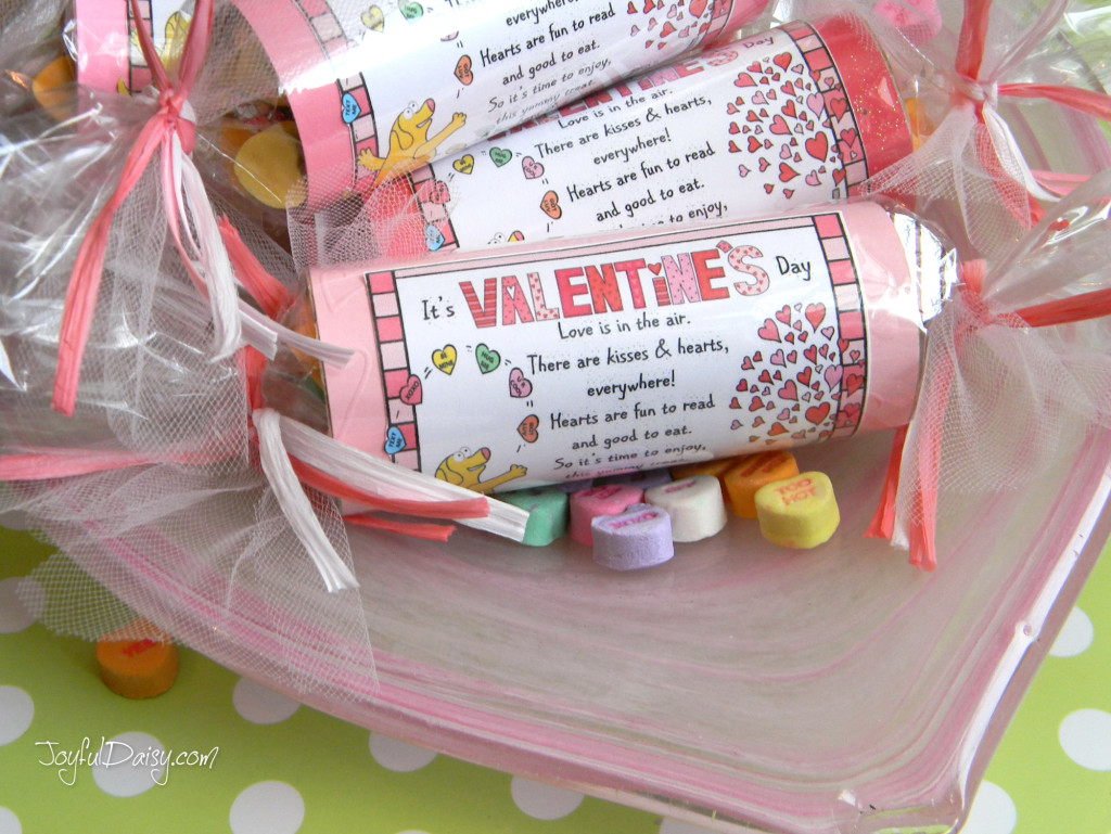 valentine party favors