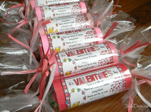 valentine treat packaging