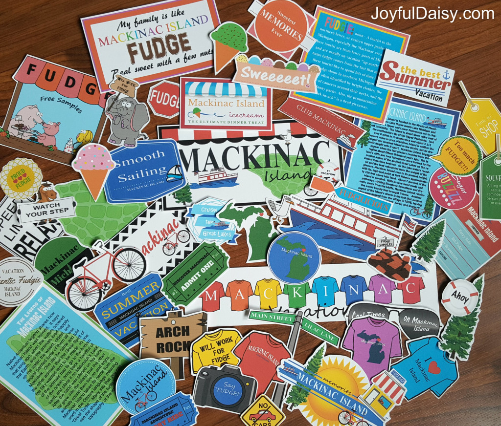 Mackinac Island Scrapbooking