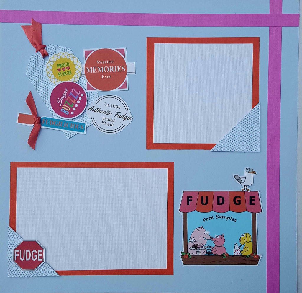 Mackinac Island Fudge Scrapbook page 2