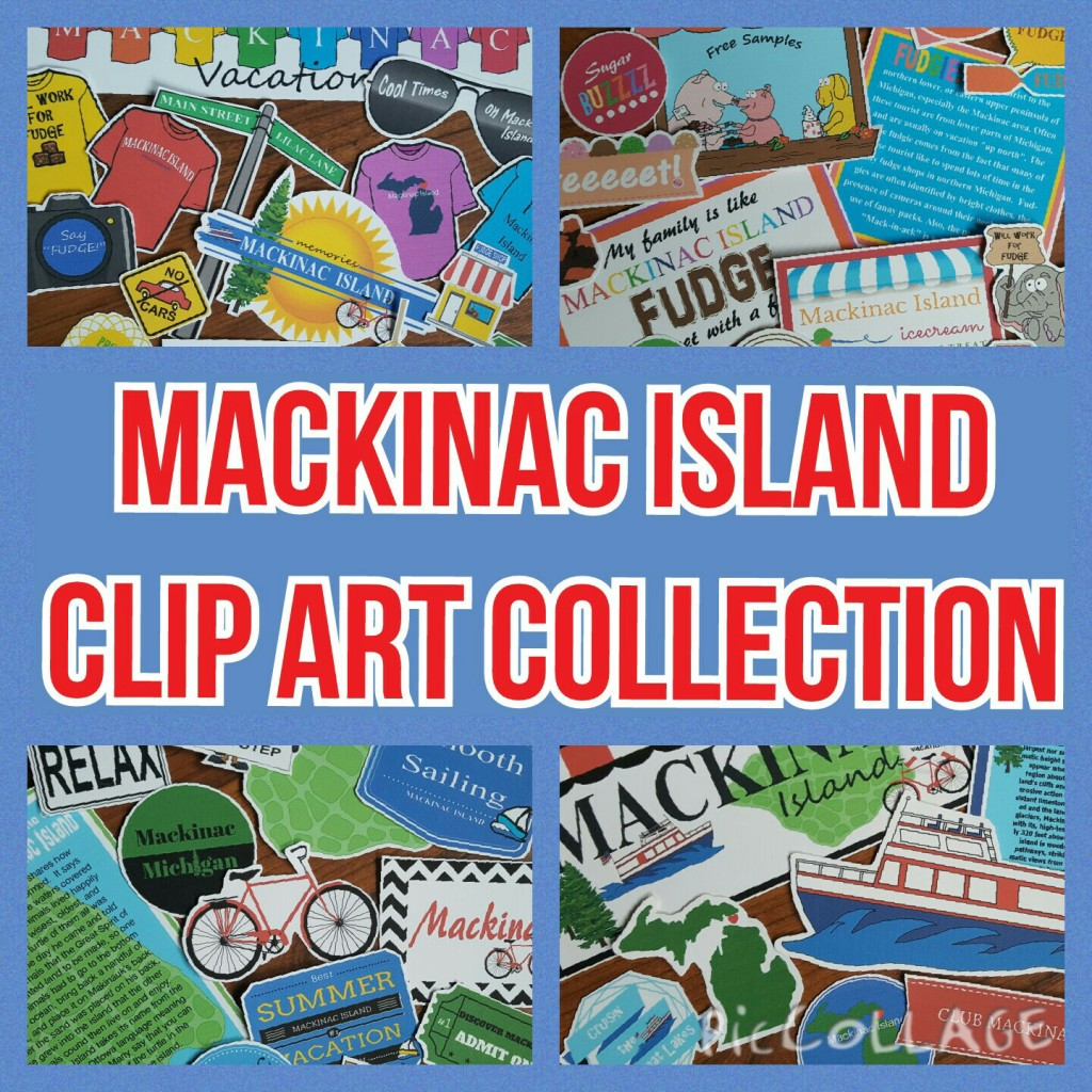 Mackinac Island Clip Art Collection