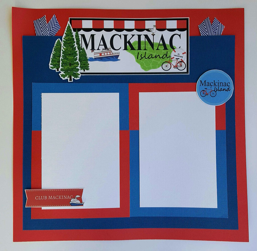 Mackinac Island Ferry Scrapbook Ideas