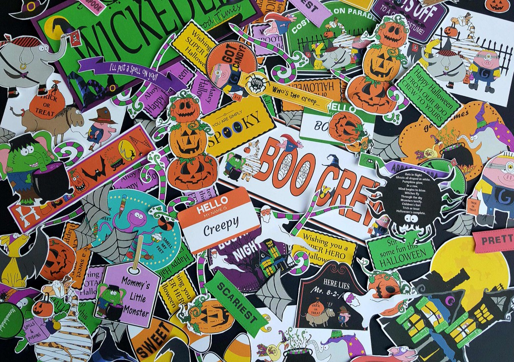Halloween Digital Clip Art for super fun projects