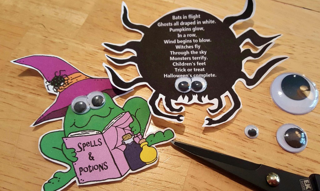 Googly eyes halloween crafts