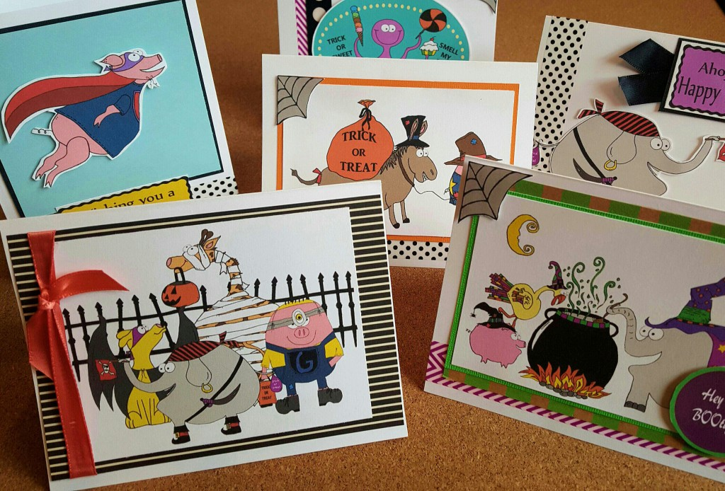 How to make your own Halloween cards