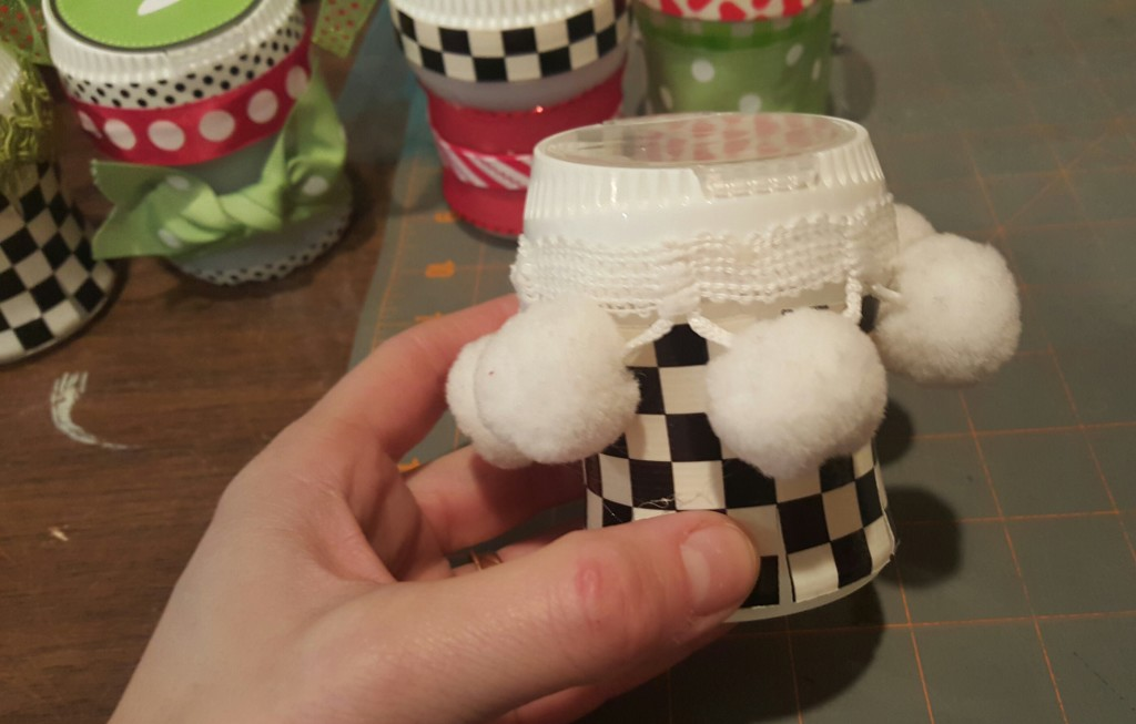 recycled gum container crafts