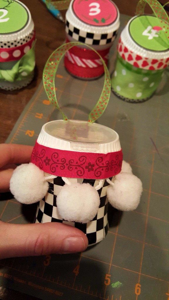 Whimsical christmas containers