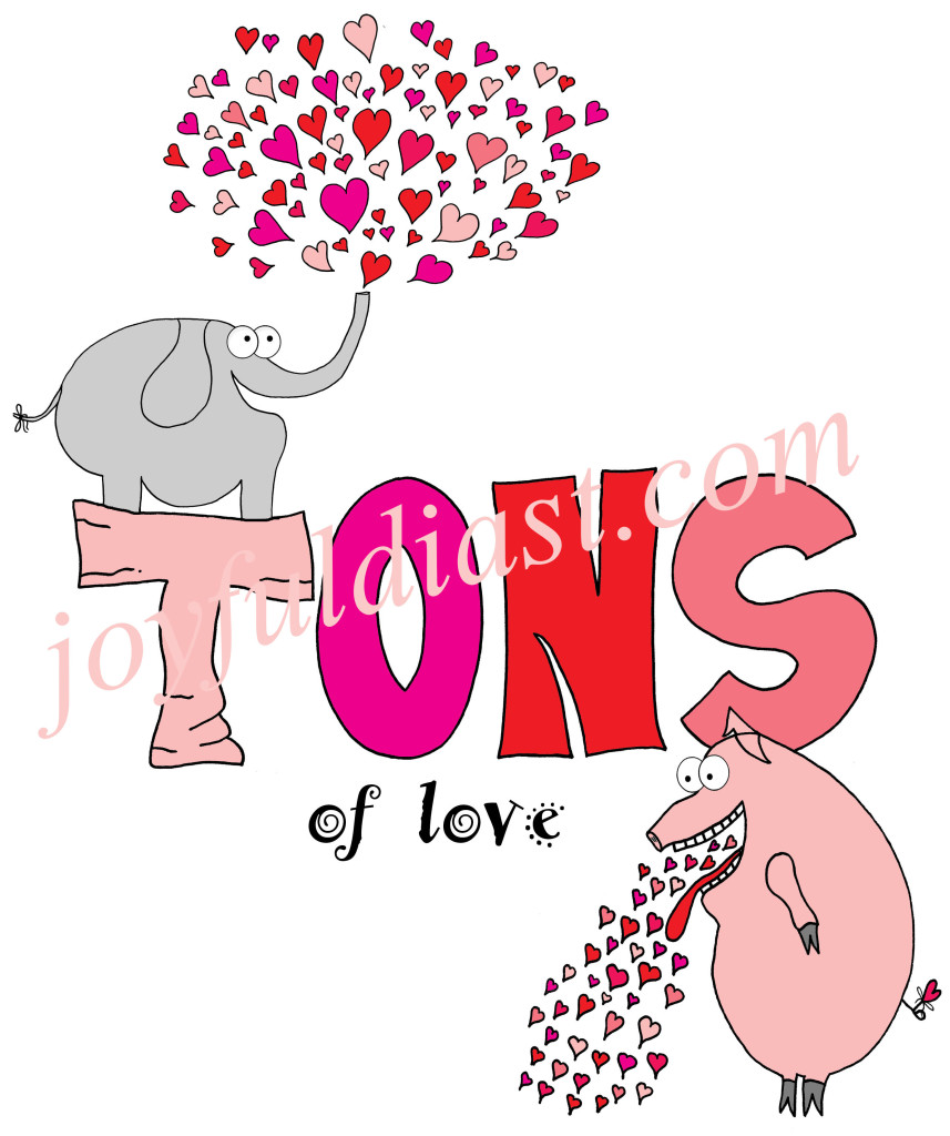 TONS of Love Colored 2 WATERMARKED