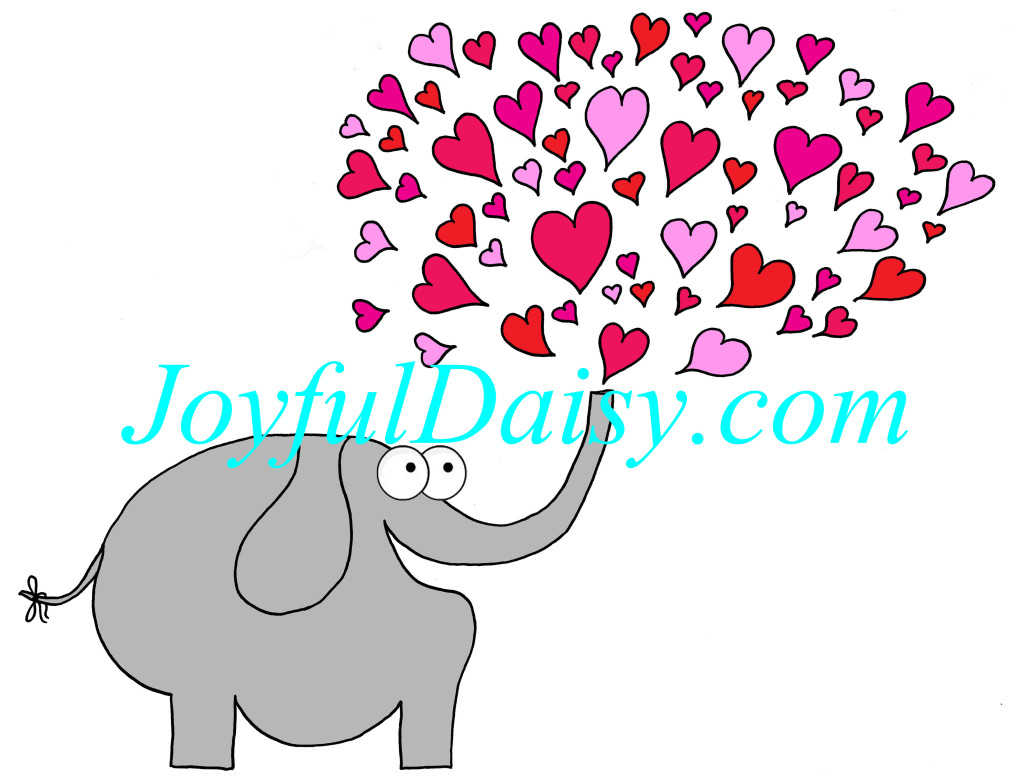 tons of love elephant coloredWATERMARKED