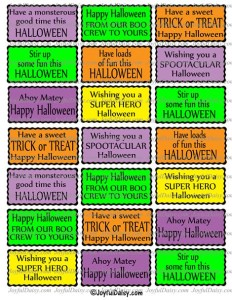 Halloween card sayings