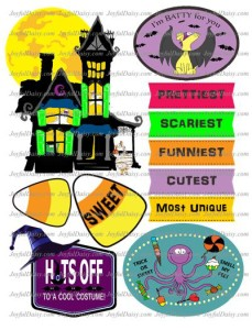 Halloween clip art haunted house