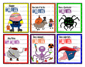 Trick or Treat sucker cards watermark