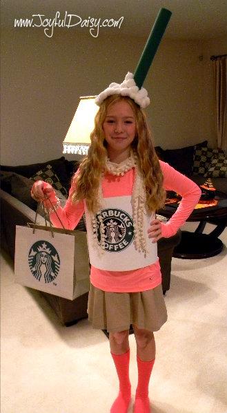 Lily Latte Homemade Starbucks Costume Joyful Daisy