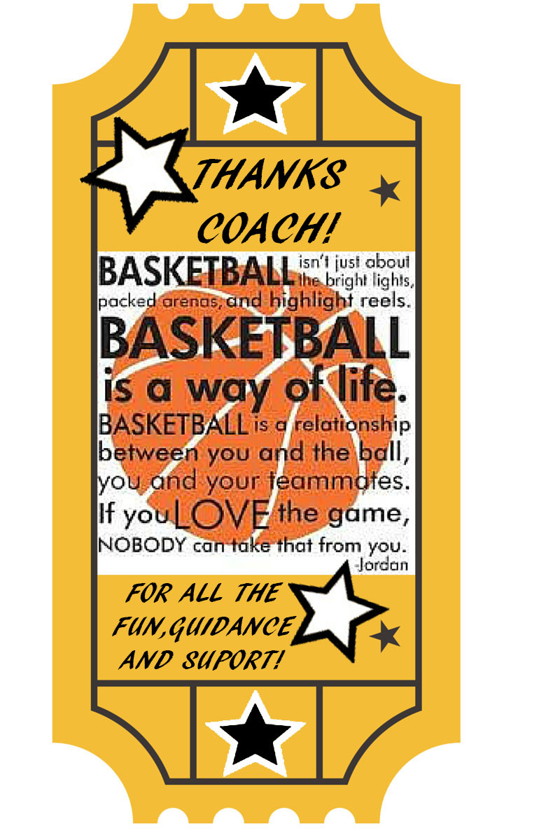 gifts for coaches basketball gift ideas