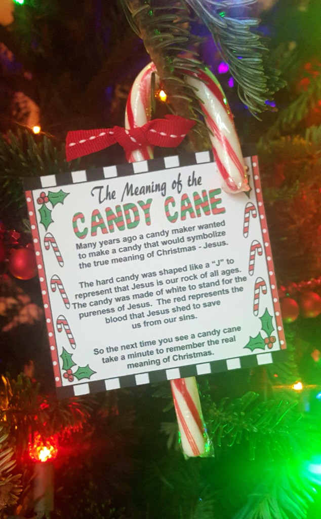 the meaning of the candy cane joyful daisy - Hard Candy Christmas Meaning