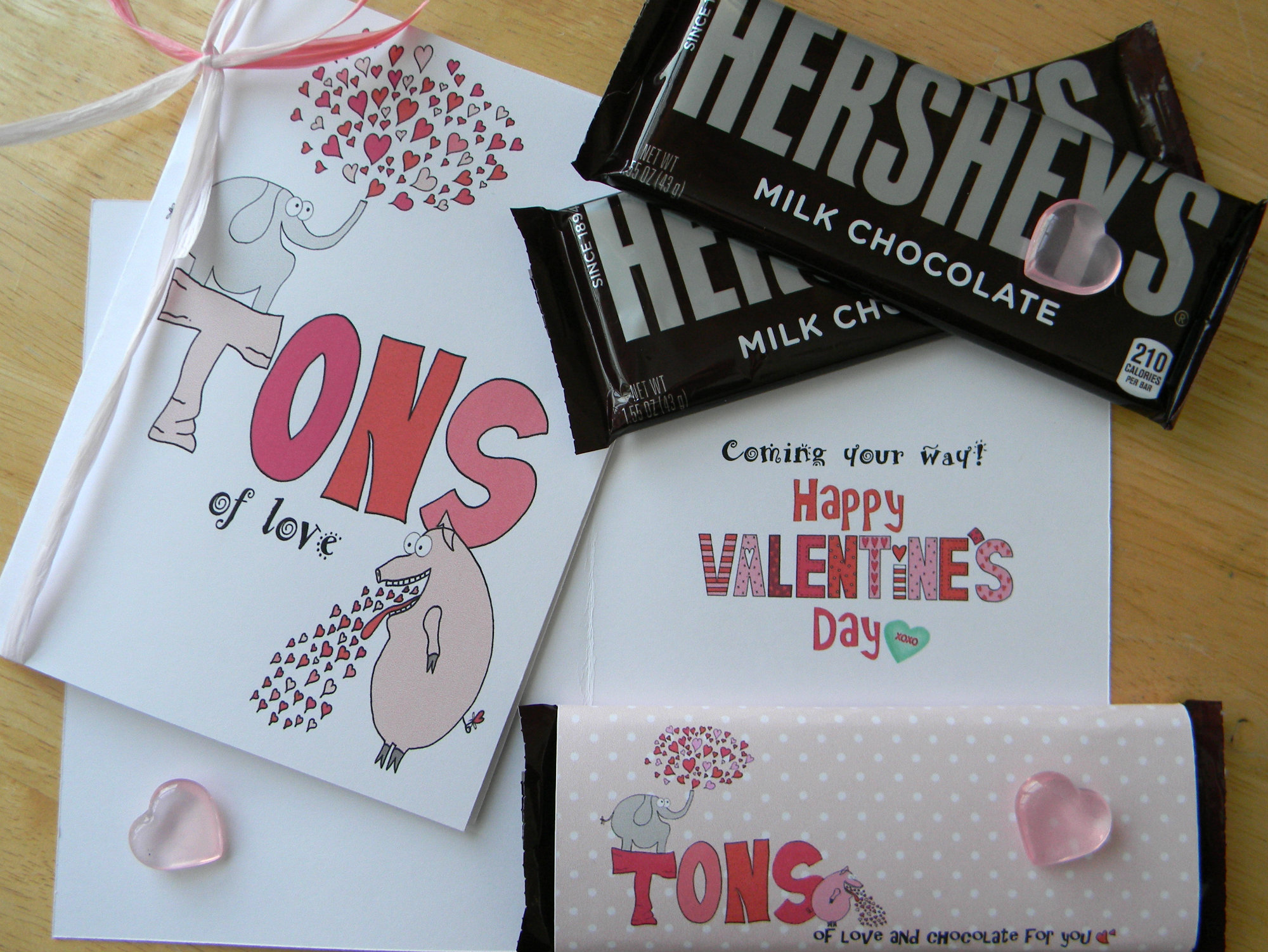 tons of love digital valentines day card  u0026 candy gram